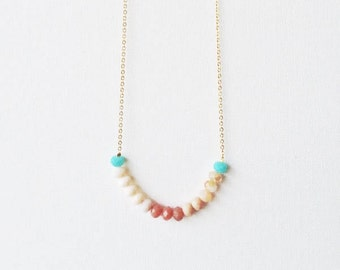 Dainty beaded necklace, dainty bead necklace, choker necklace, beaded choker necklace