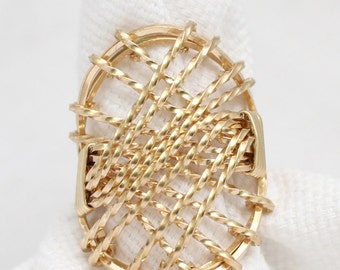 The Filigree Wire Wrapped Ring