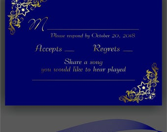 Personalized RSVP cards