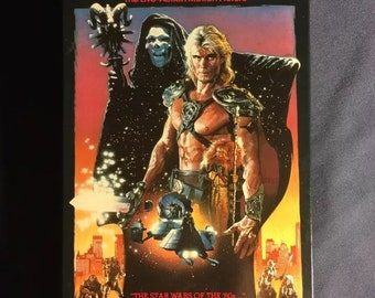 Masters of the Universe VHS Movie  He-Man Action Sci Fi 1995 Release
