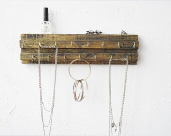 Necklace Holder Wall, Jewelry Hanger, Necklace Organizer, Necklace Storage,  Jewelry Holder,