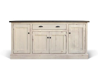 Sideboard, Buffet, Reclaimed Wood, Console Cabinet, Server, Farmhouse, China Cabinet, Handmade