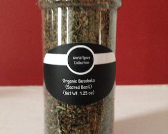 Organic Besobela ( Holy Basil, Sacred Basil), an Ethiopian Herb