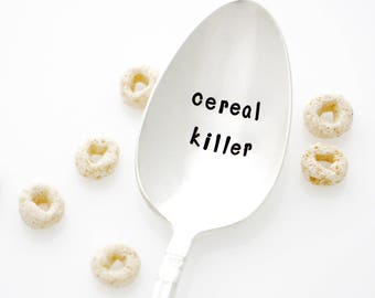 Cereal Killer Spoon. Novelty Gift, Kitchen Puns. As Seen On The Today Show.