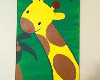 Jungle Fun! (Set of four canvases)