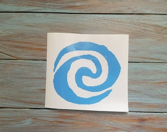 Moana Ocean Vinyl Decal Sticker