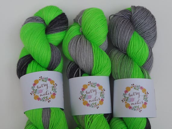Ectoplasm Merino Nylon Fingering Weight Yarn