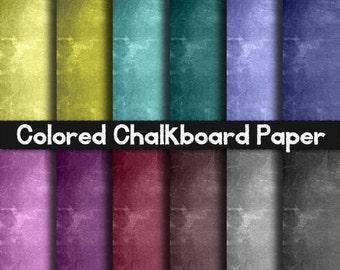 Colored Chalkboard Paper - Pink Chalkboard Paper, Chalkboard Scrapbooking Paper, Blue Chalkboard Paper, White Chalkboard Papers, Chalkboards