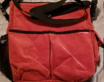 SKIP HOP corduroy bag. FREE SHIp