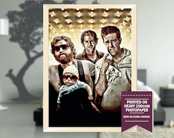 The Hangover, fanart, hangover poster, hangover print, best posters, hangover art, hangover movie, cool art, cool posters
