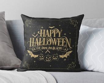 Halloween Decor   Halloween Pillow Case   Halloween Pillow Cover   Halloween Cushion   Halloween Decorations  