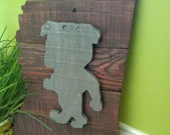 Mississippi State wall hanging