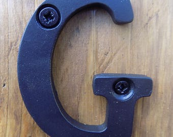 "3 inch Letter...............Any 1. Wrought Iron (Forged Steel) 3"" Letter or Number"