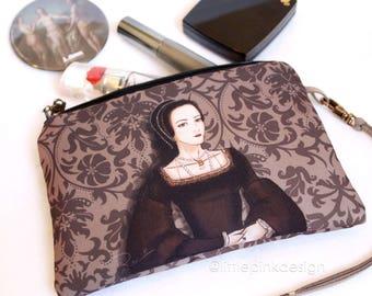 Set Queen Anne Boleyn - Keyring and nècessaire (clutch)