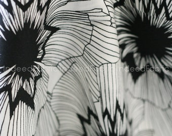 Persephone- Black and White Collection, Cotton + Steel, Quilting Weight Cotton