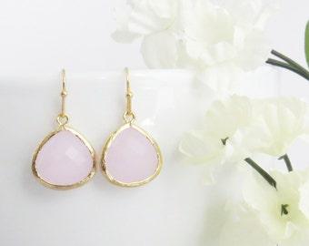 Valentines Earrings, Pink Earrings, Mom Earrings, Valentines Gift, Gift for Wife, Bridal Earrings, Bridesmaid Earrings, Gift for Sister