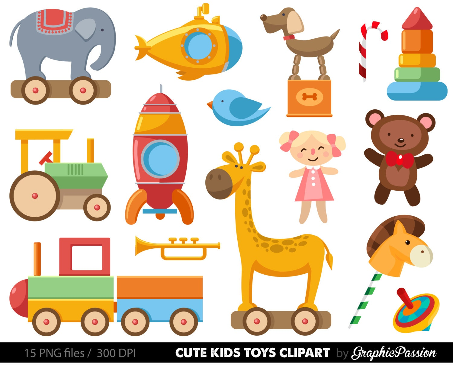 baby toys clipart clip art baby clip art toy cars kids rh etsy com a toy shop clipart clipart of toys black and white