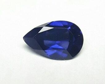 1.03ct 7.9mm x 5.1mm pear shape natural colour change Sapphire