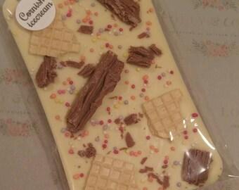 Cornish icecream flavour chocolate slab