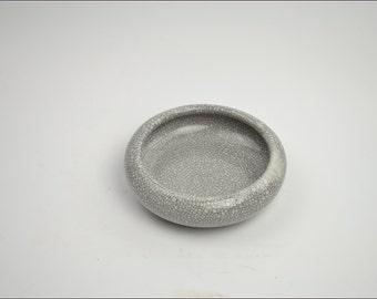 Free Shipping Chinese Calligraphy Material  14x5cm Porcelain Water Bowl Brush Washing Bowl - Crazed Celadon -  0004