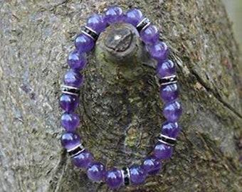 Restful Sleep Amethyst Healing Crystal Bracelet