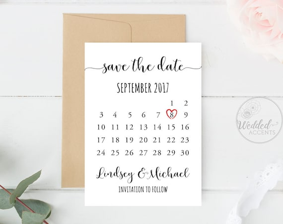 Save The Date Calendar Save The Date Calendar Template - Save the date calendar template