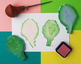 Even Artichokes Have Hearts - Original Handprint