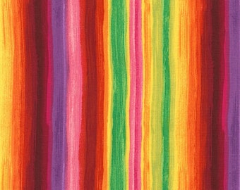 Dream-Multi Stripe -Chong-a Hwang-Timeless Treasures- Quilt -Apparel-WindyRobinCotton- *Sold by half yard.