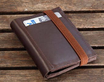 Brown Leather Wallet for Mens