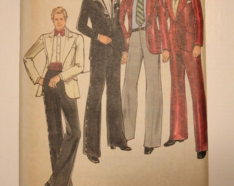 Butterick Tuxedo # 3964 size 42 Maybe from the 80s?