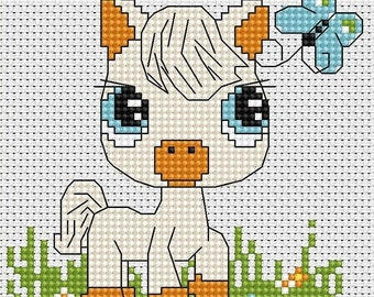 Little Horse SB045 - Cross Stitch Kit by Luca-s