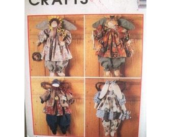 McCall's 8508 Seasonal Angels Pattern - Uncut
