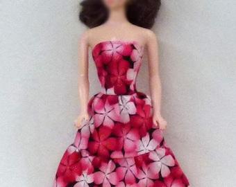 "11.5"" Fashion doll handmade dress"
