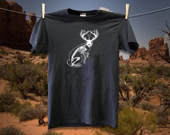 Jackalope Skeleton T-Shirt