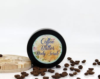 Coffee butter sugar scrub