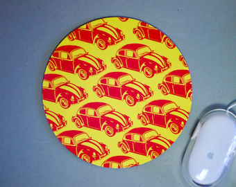 VW Beetle Mouse Mat Mousemat Mouse Pad - Desk Accessory Office Gift Classic Car