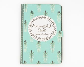 Jane Austen Mansfield Park Book iPad, iPad Air, iPad Pro case