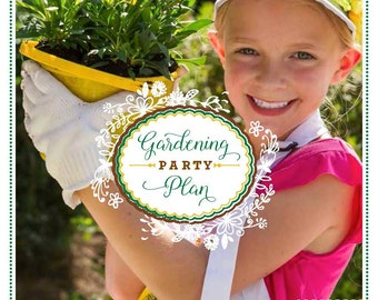 Gardening Party Plan - Garden Party Plan - Gardening Party - Garden Party - Party Planning Guide - Party eBook