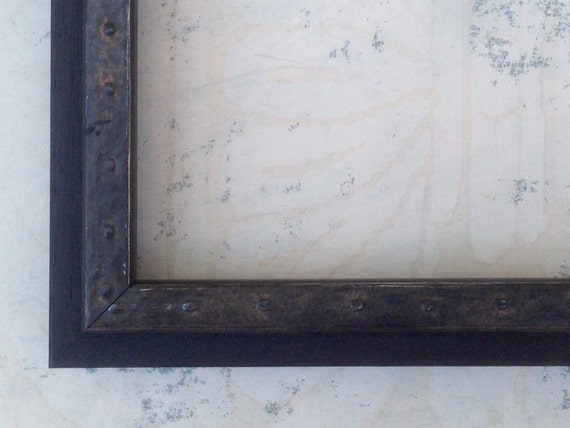 Industrial Iron Black Picture Frame 4x6 5x7 8x8 8x10