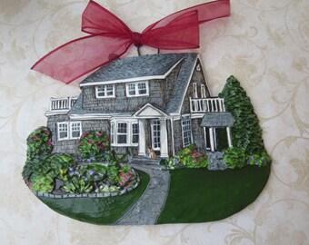Custom listing for- cross018- one Custom House Ornament