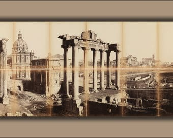 Poster, Many Sizes Available; View Of The Roman Forum