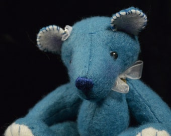 Kunstenaar teddybeer   OOAK   Trudy