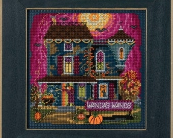 Mill Hill Buttons & Beads Autumn Series, Wanda's Wands MH14-1822, Halloween Counted Cross Stitch Kit