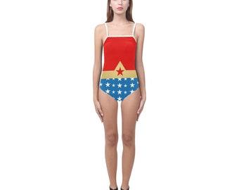 Me demande de maillot de bain femme à lanières | Justaucorps de danse | Caractères gras imprimé graphique | Design moderne | Une seule pièce nager porter patinage | Taille XS S M L XL 2XL 3XL