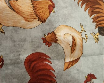 Rooster fabric   American Harvest