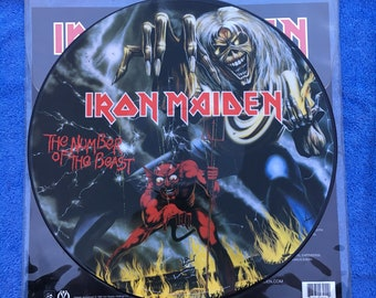 RARE Iron Maiden - The Number of the Beast