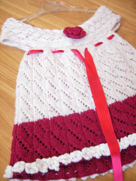 Crochet Mädchenkleid häkeln Babykleid häkeln Baby-Mädchen