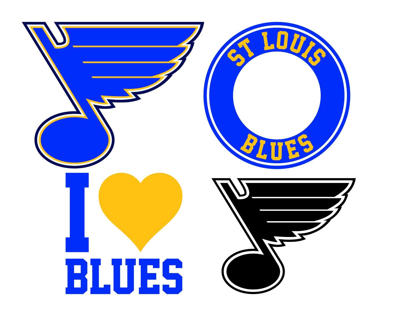 St Louis Blues Cut Files St Louis Blues Svg Files St Louis