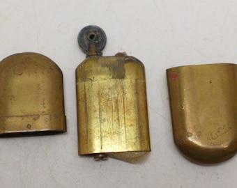 Antique Brass Lighter - Pocket Lighter - Cigarette Lighter - Brass No. 5 Lighter - Trench Lighter