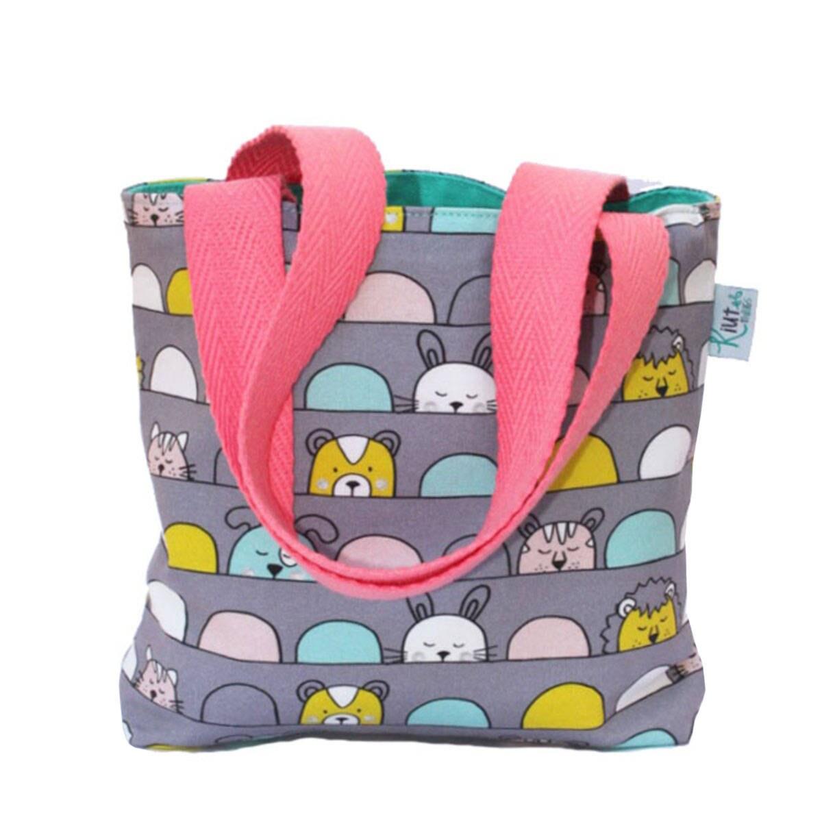 Animals children tote bag, Kids tote bag, Animals kids tote bag ...